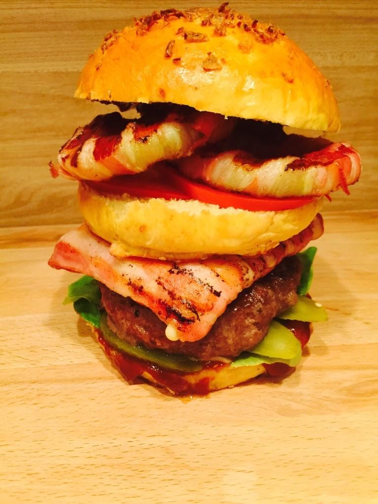 Rezept Bacon Burger