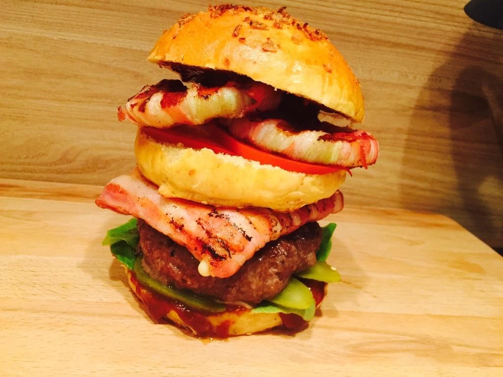 Leckeres Bacon Burger Rezept