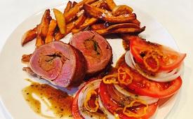 BBQ Rezept Roulade geklückt - Appetit