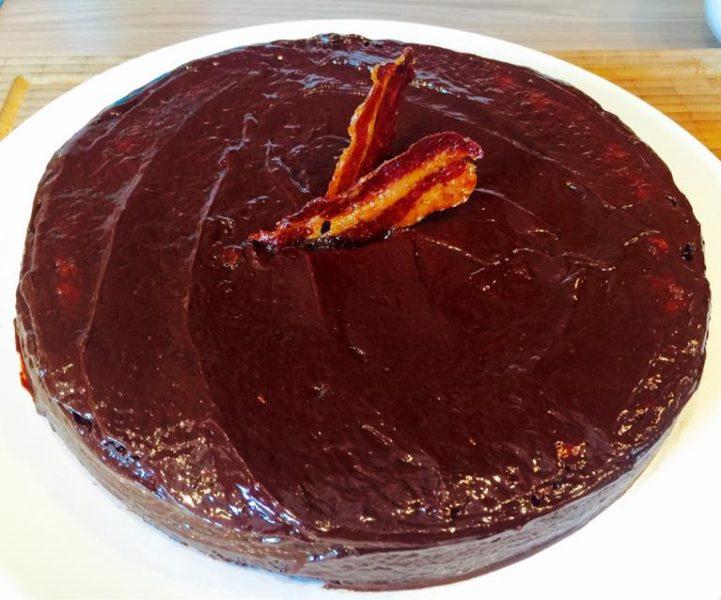 BBQ Bacon Kuchen Rezept