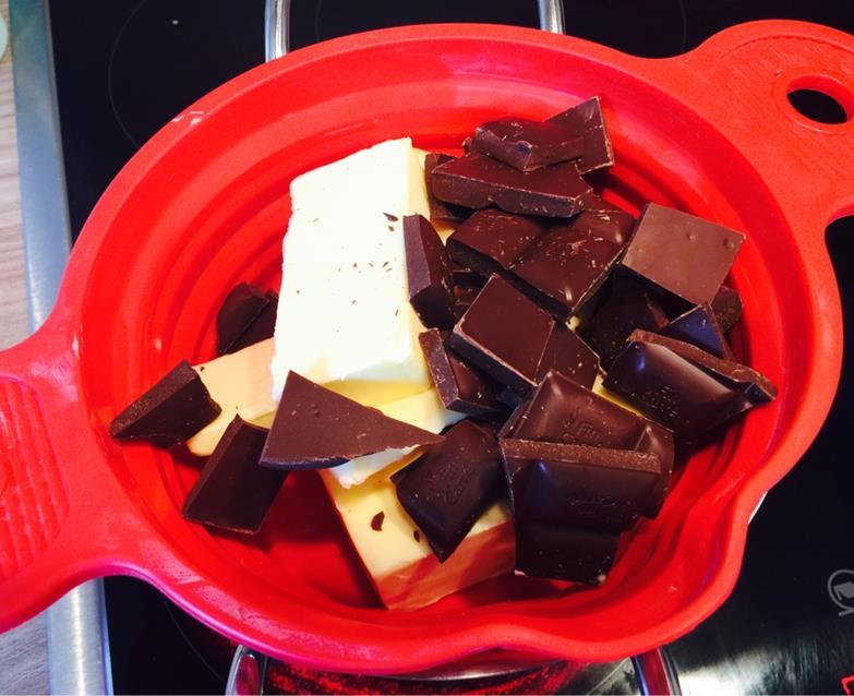 BBQ Kuchen mit echter Schokolade
