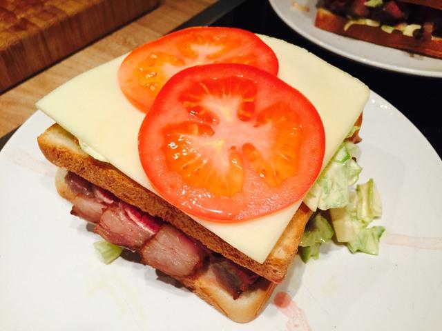 Sperrschicht Käse - Sandwichbau